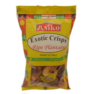 Asiko Sightly Salted Plantain Crisps