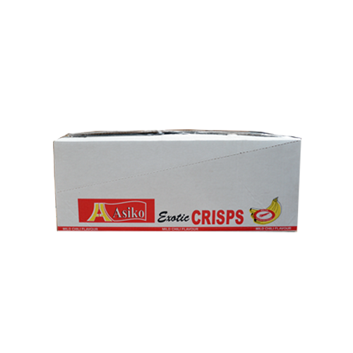 Asiko Plantain Crisps (10 x 75g)