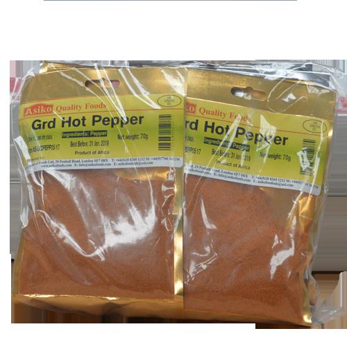 Ground Hot Pepper