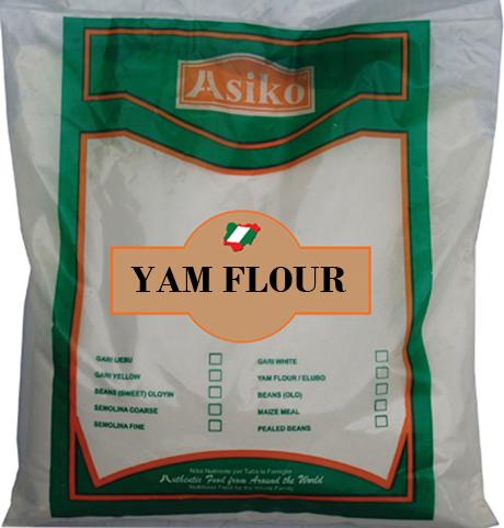 Asiko Yam Flour (Elubo)