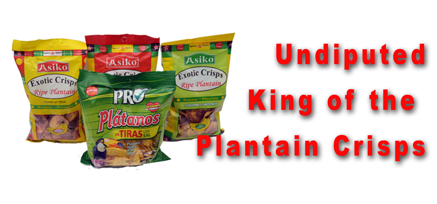 Undisputed King of the Plantain Crisps