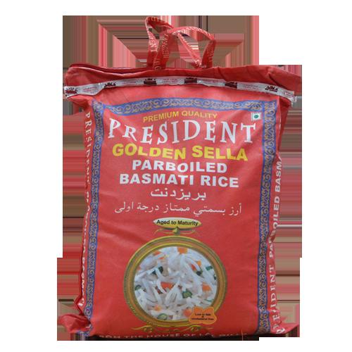President Golden Sella Parboiled Basmati Rice